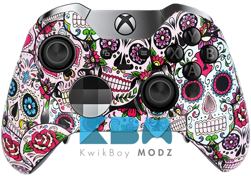 Custom Sugar Skulls Elite Controller