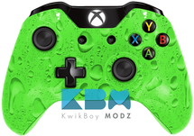 Custom Green Rain Xbox One Controller