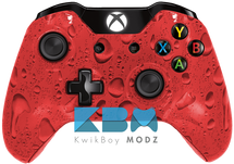 Custom Red Rain Xbox One Controller