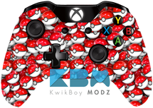 Custom Pokéball Xbox One Controller