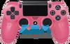 Metallic Pink PS4 Controller