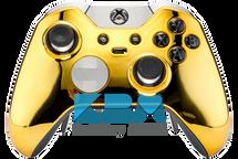 Custom Gold Chrome Elite Controller
