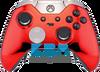 Custom Red Chrome Elite Controller