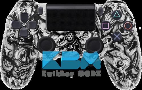 Custom Insanity Skulls PS4 Controller
