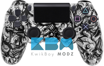 Custom Insanity Skulls PS4 Controller