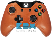 Metallic Orange Xbox One Controller