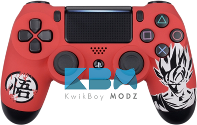 Goku Custom PS4 Controller