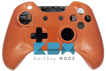 Metallic Orange Xbox One Controller Shell