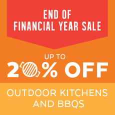 BBQ STORE Outdoor Kitchen SALE End of finanical year
