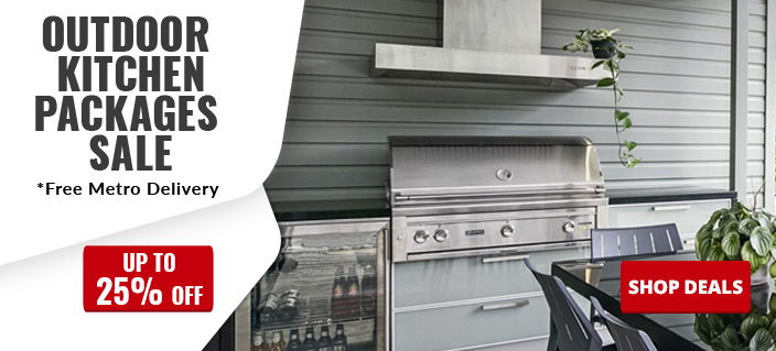 Outdoor bbq kitchen packages australia sale