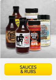 Sauces and Rubs