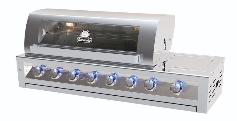 Galaxy 6 Burner Built In Natural Gas BBQ BQ1090BNG - The BBQ