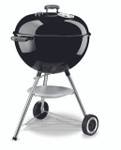 WEBER 57cm Kettle with Lid Thermometer-Black K1341524