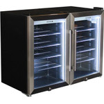 SCHMICK Tropical Triple Glazed Outdoor 2 Glass Door Alfresco Bar Fridge 140L HUS-SC70-COMBO
