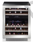 ILVE ILWD37XR 37 Bottle Dual Zone Wine Cabinet Right Hinge SS