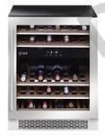 ILVE ILWD37XR 37 Bottle Dual Zone Wine Cabinet Right Hinge SS