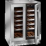 Ilve ILWD36X Dual Zone Double Door Wine Cellar