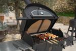 Vulcano 3 Alsace Premium Versatile outdoor pizza oven