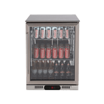 Euro 138L Single Door Beverage Cooler - EA60WFSX2R