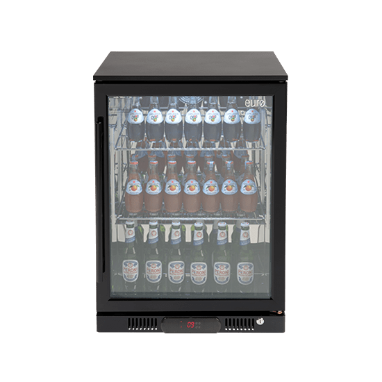 Euro 138l Single Glass Door Beverage Cooler Ea60wfbr The Bbq Store