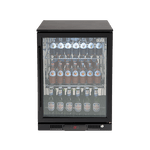 Euro 138L Single Glass Door Beverage Cooler - EA60WFBR