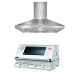 BUNDLE PACKAGE BEEFEATER SIGNATURE 3000(S) BS12840 BUILT IN  AND ARTUSI RANGEHOOD 120 CM - ARCH12BBQ