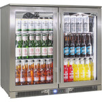 Rhino Outdoor ENVY 316 Marine Grade Stainless Steel Bar Fridge - ENV2H-SS