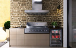 Euro Outdoor Kitchen - Amici - Hooded BBQ