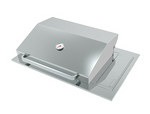 Galaxy Drop-In Flush Mount LPG BBQ + Hood BQ1096