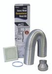 Universal Vent Kit Semi-Rigid - Wall Eave - RHKE65