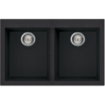 Artusi Double Granitek Series Sink Black
