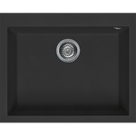 Artusi Granitek Series Sink Single Black