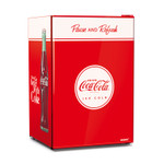Husky 118L Coca-Cola Solid Door Bar Fridge
