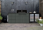 Artusi BBQ Black Outdoor Kitchen Series