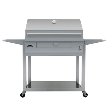 Tucker Charcoal Deluxe Built In with Shelf Stand Trolley (Charcoal Deluxe with Shelf Stand Trolley front