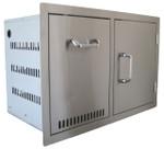 BEEFEATER Door/Propane Drawer Combo BS24240