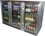 RHINO 3 DOOR OUTDOOR BEVERAGE CENTRE GSP3H-SS