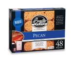 BRADLEY Pecan  Bisquettes 48 Pack PC48