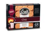 BRADLEY Oak  Bisquettes 48 Pack OK48