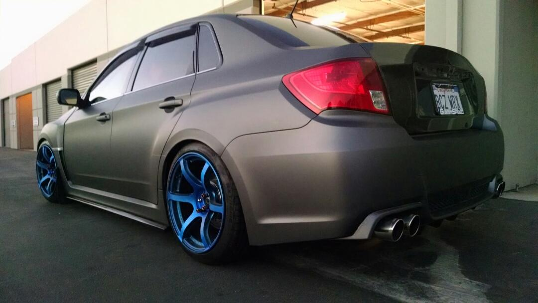 Wrapping A Subaru Wrx Premium Auto Styling