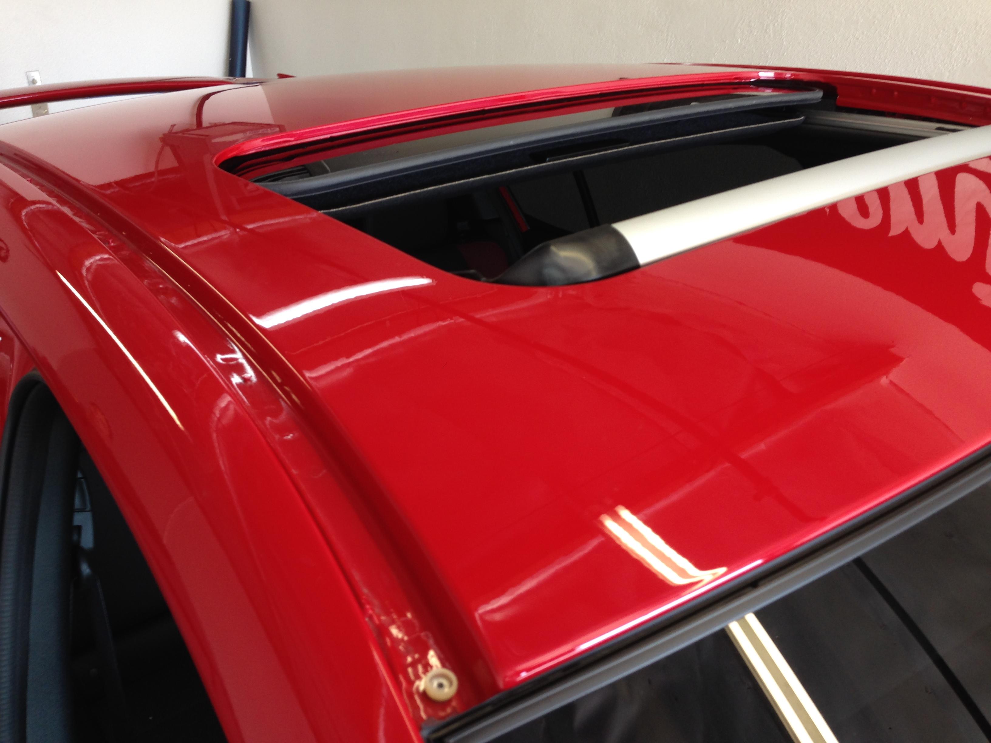2015 Subaru Wrx Sti Vinyl Roof Wrap Premium Auto Styling