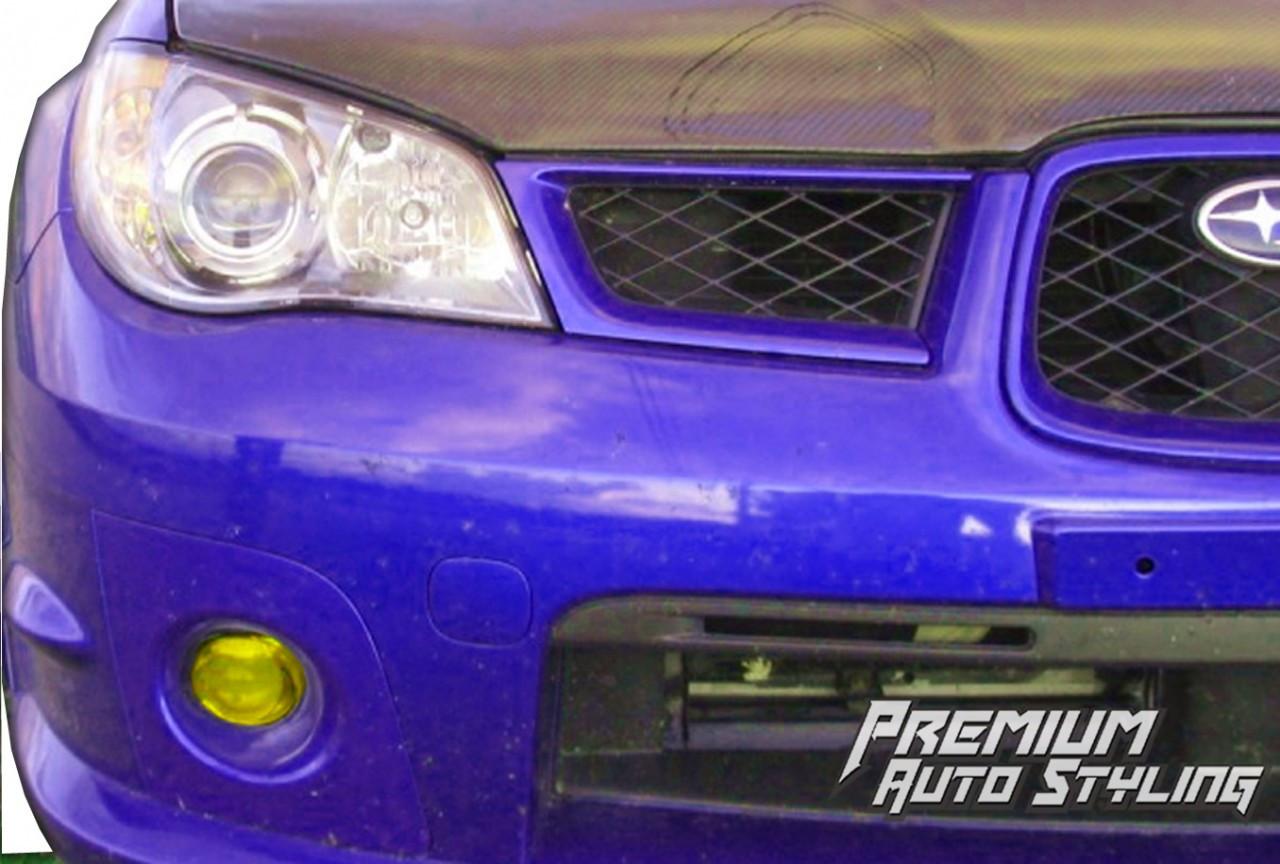 2006 2007 Subaru Wrx Sti Pre Cut Fog Light Vinyl Overlays