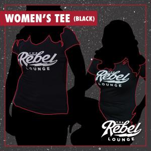 Girls' Black The Rebel Lounge shirt