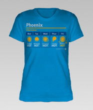 Phoenix Weather Forecast - women's