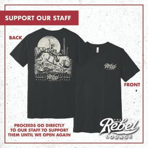 Shirt + Mug + 2 Tickets: Support Our Staff - Limited T-Shirt