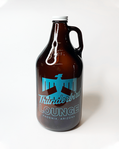 64oz Growler with your 1-color artwork!