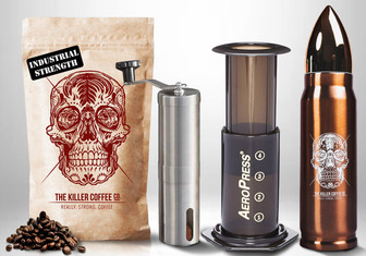 The killer Coffee Co. Survival Pack
