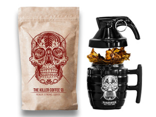 Killer Coffee +  Grenade mug - FREE shipping