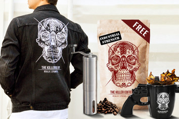 Killer Coffee Bad-ass  Pack - Free shipping