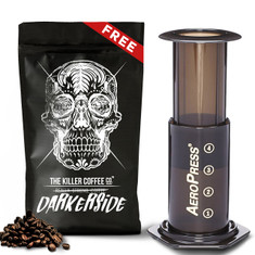 Aeropress kit with FREE Killer Coffee Darkerside